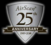 Air Scan 20th Anniversary Seal